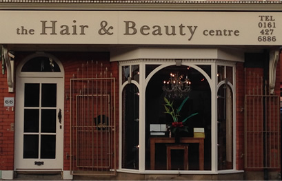 The Hair and Beauty Centre Shop Front